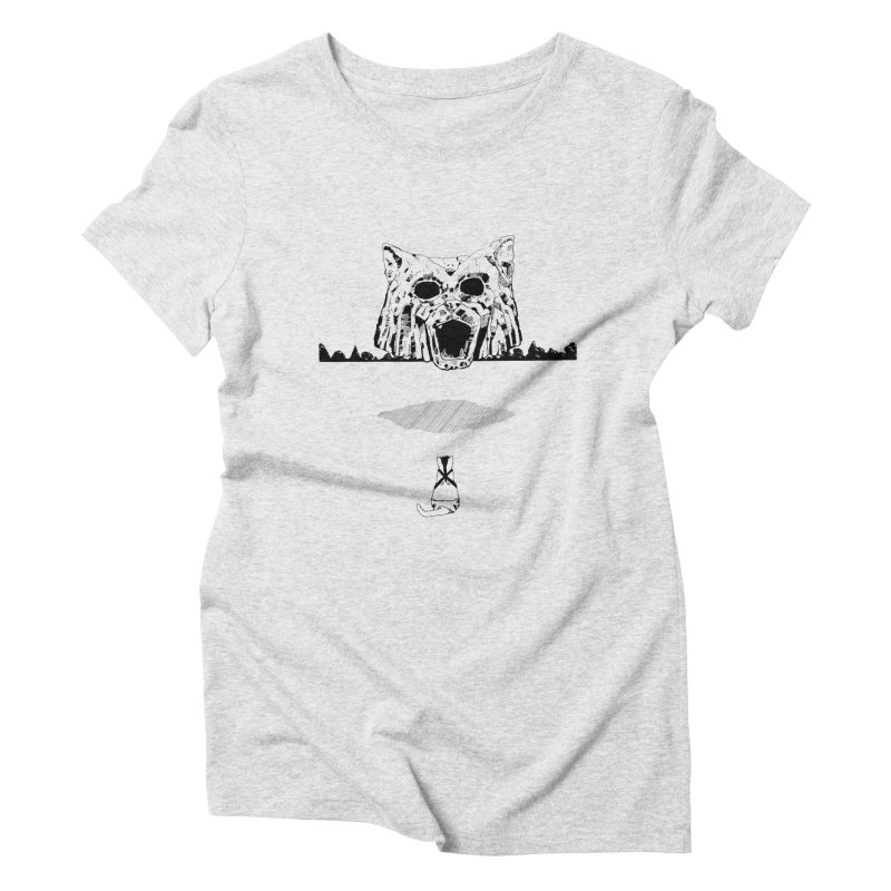 Catdoz Women's T-Shirt by Dswensondesign 's Artist Shop