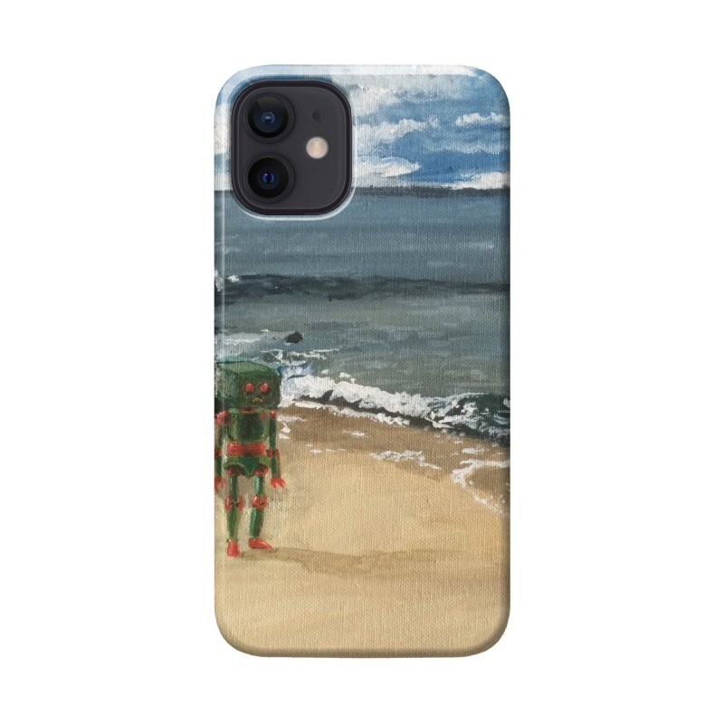 Lonely Robot 1 Accessories Phone Case by Dswensondesign 's Artist Shop