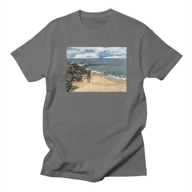 Lonely Robot 1 Men's T-Shirt by Dswensondesign 's Artist Shop