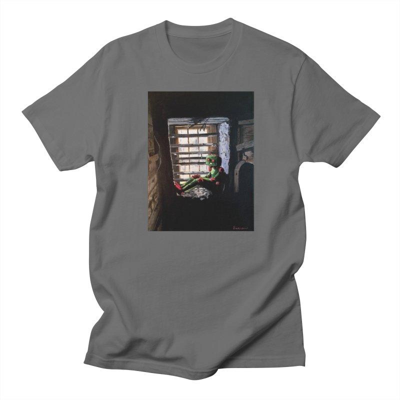 Lonely Robot 2 Men's T-Shirt by Dswensondesign 's Artist Shop