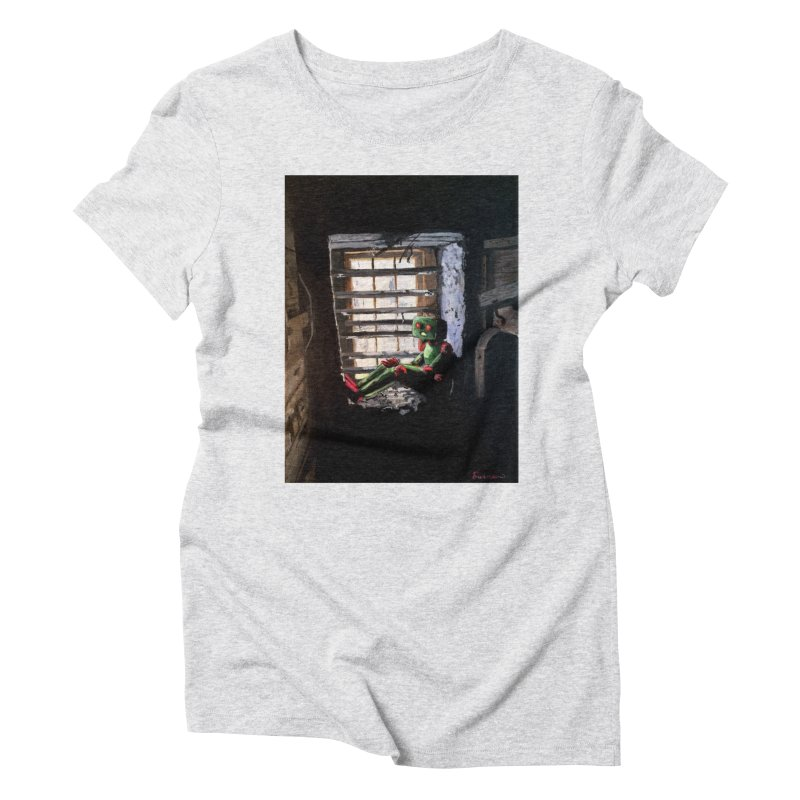 Lonely Robot 2 Women's T-Shirt by Dswensondesign 's Artist Shop