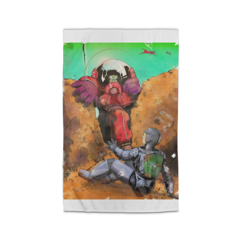 Spaceman Home Rug by Dswensondesign 's Artist Shop