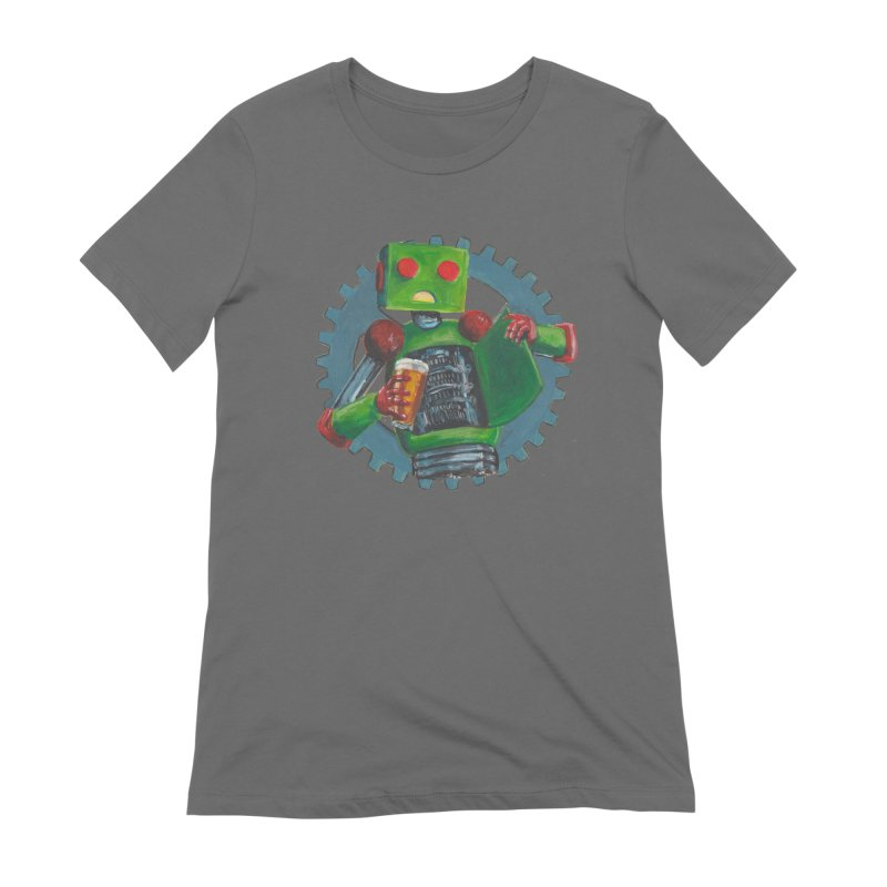 Gear Box Robot Women's T-Shirt by Dswensondesign 's Artist Shop