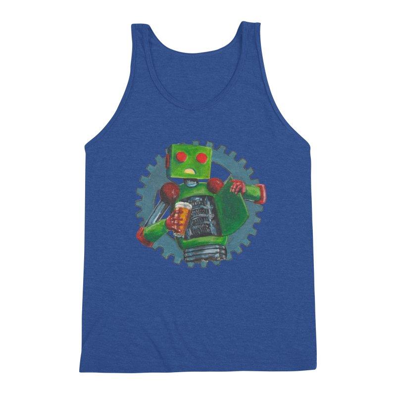 Gear Box Robot Men's Tank by Dswensondesign 's Artist Shop