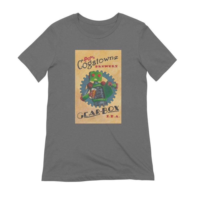 Cogstowne Brewery Women's T-Shirt by Dswensondesign 's Artist Shop