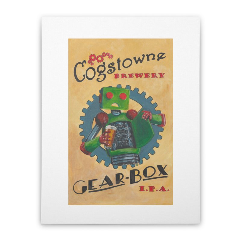 Cogstowne Brewery Home Stretched Canvas by Dswensondesign 's Artist Shop