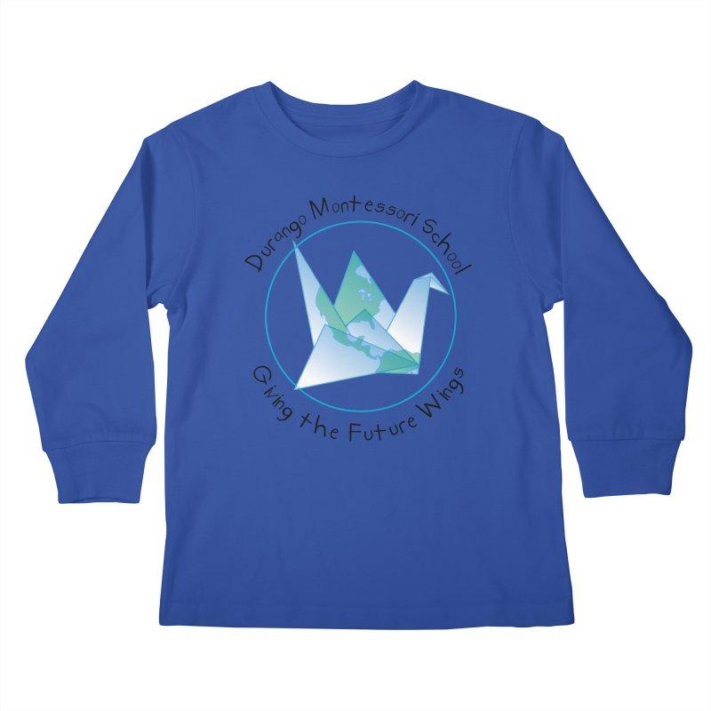 Click Here to Select Items Kids Longsleeve T-Shirt by DurangoMontessori's Artist Shop