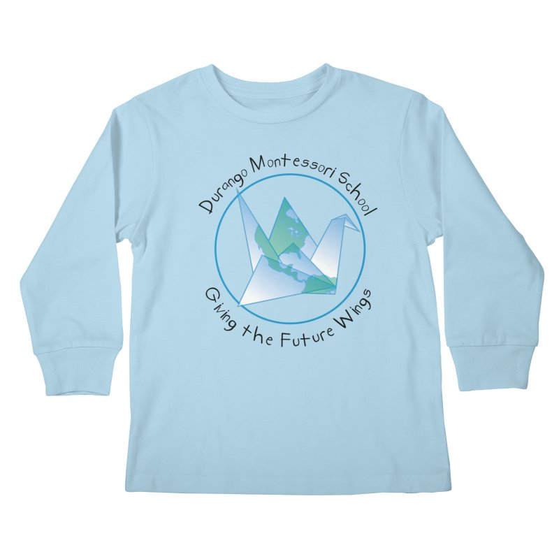 Click Here to Select Items Kids Longsleeve T-Shirt by DurangoMontessori's Artist Shop