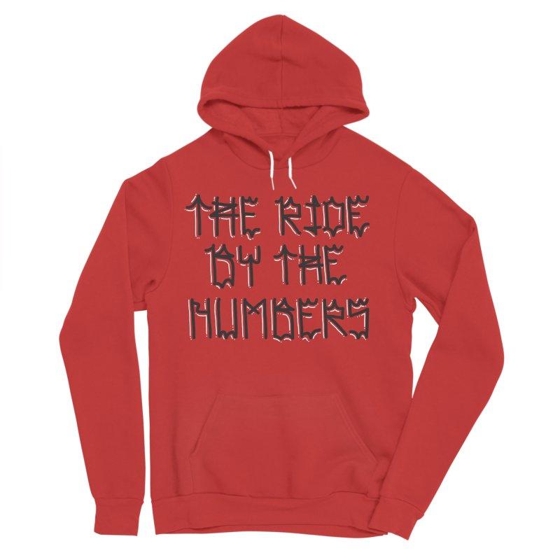 The Ride By The Numbers Men's Sponge Fleece Pullover Hoody by Dustin Klein's Artist Shop