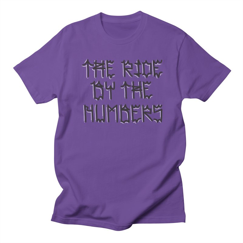 The Ride By The Numbers Men's Regular T-Shirt by Dustin Klein's Artist Shop