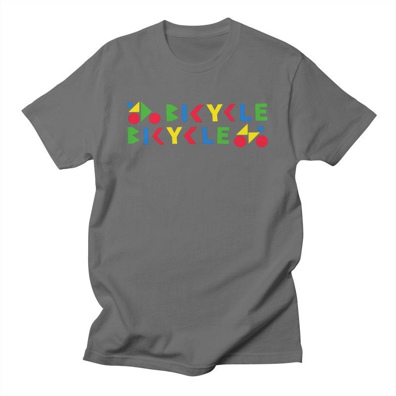 Bicycle Bicyle Men's T-Shirt by Dustin Klein's Artist Shop
