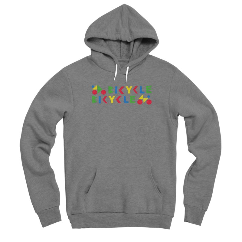 Bicycle Bicyle Men's Pullover Hoody by Dustin Klein's Artist Shop
