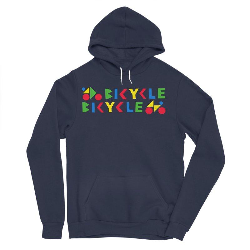 Bicycle Bicyle Women's Sponge Fleece Pullover Hoody by Dustin Klein's Artist Shop