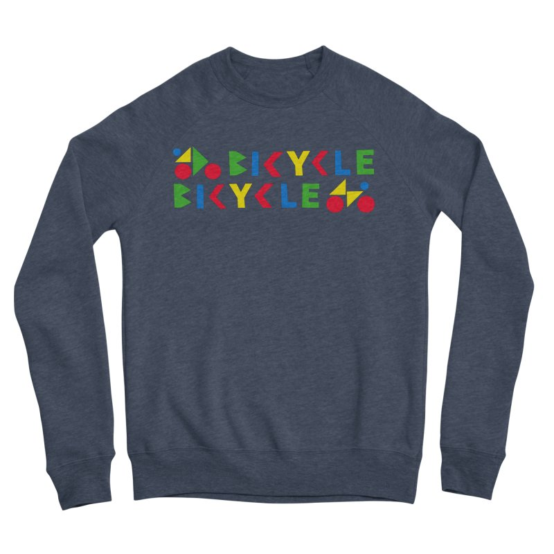 Bicycle Bicyle Men's Sponge Fleece Sweatshirt by Dustin Klein's Artist Shop