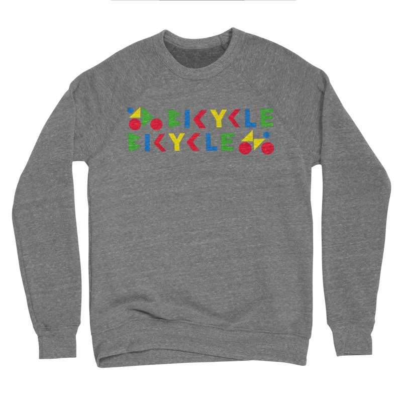 Bicycle Bicyle Women's Sponge Fleece Sweatshirt by Dustin Klein's Artist Shop
