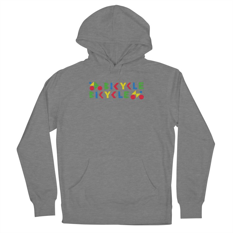 Bicycle Bicyle Women's Pullover Hoody by Dustin Klein's Artist Shop