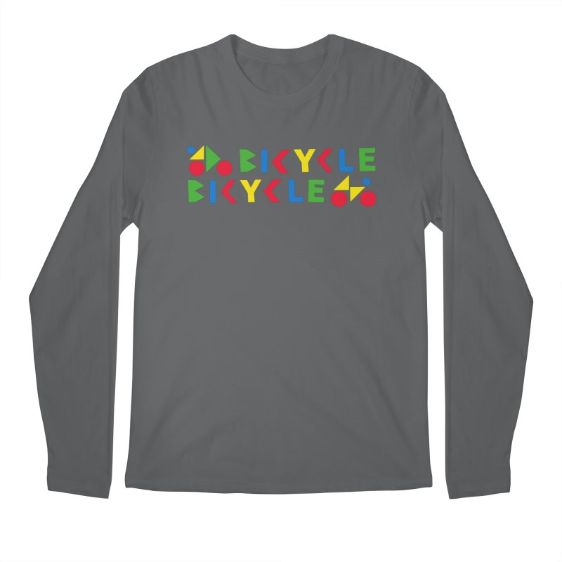 Bicycle Bicyle Men's Regular Longsleeve T-Shirt by Dustin Klein's Artist Shop
