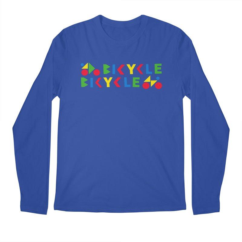Bicycle Bicyle Men's Regular Longsleeve T-Shirt by Dustin Klein's Artist Shop