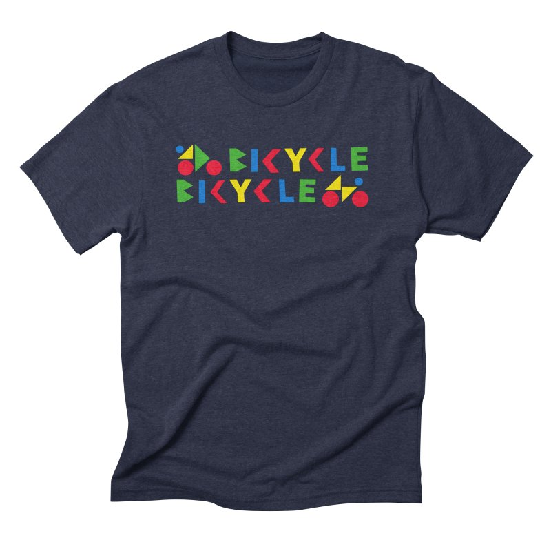 Bicycle Bicyle Men's Triblend T-Shirt by Dustin Klein's Artist Shop