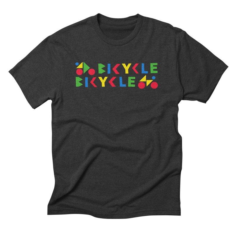 Bicycle Bicyle Men's Triblend T-Shirt by Dustin Klein's Artist Shop