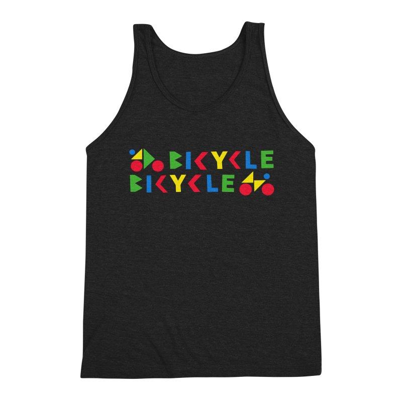 Bicycle Bicyle Men's Tank by Dustin Klein's Artist Shop