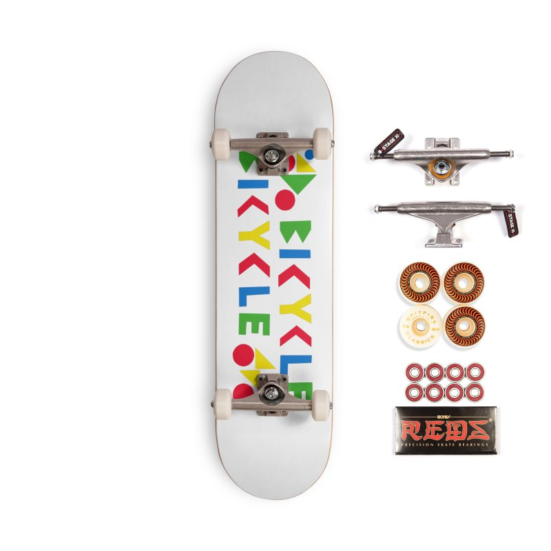 Bicycle Bicyle Accessories Skateboard by Dustin Klein's Artist Shop