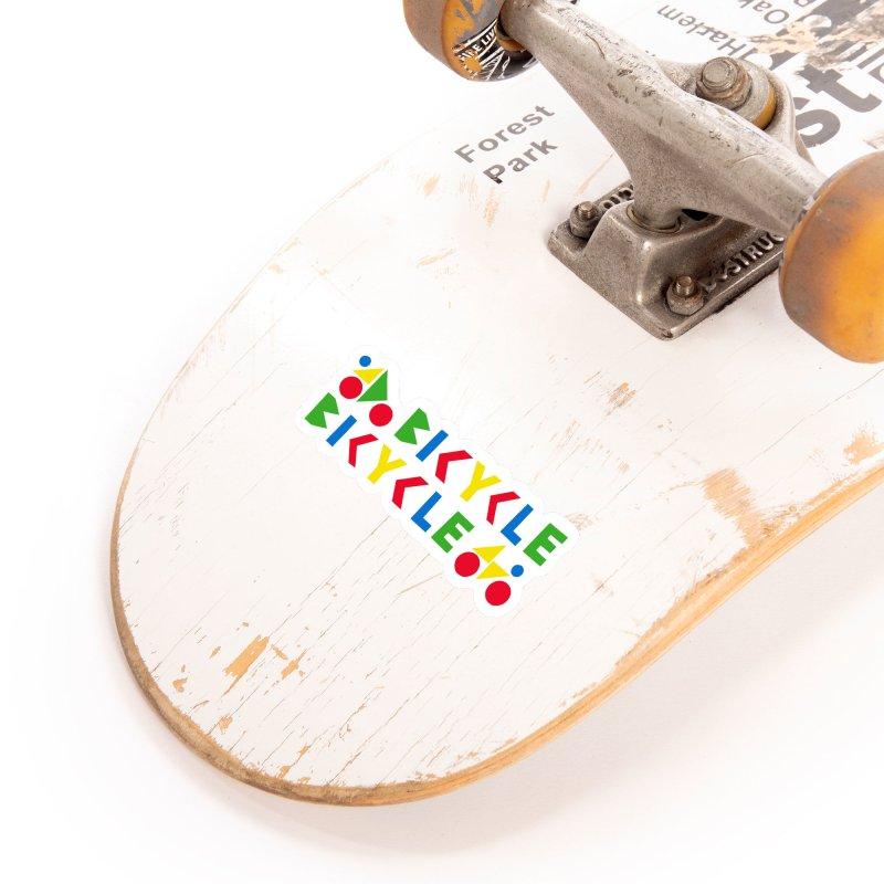Bicycle Bicyle Accessories Sticker by Dustin Klein's Artist Shop
