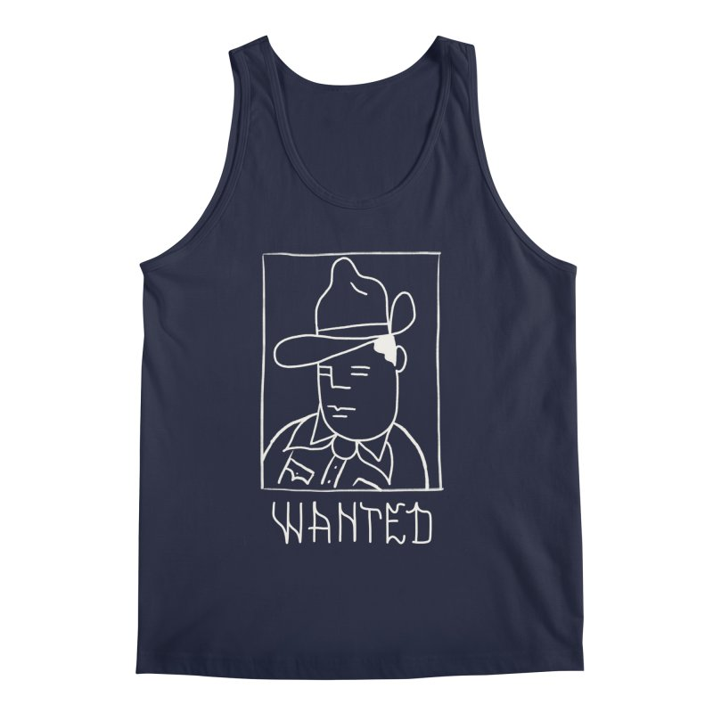 Wanted, Dead or Alive Men's Regular Tank by Dustin Klein's Artist Shop
