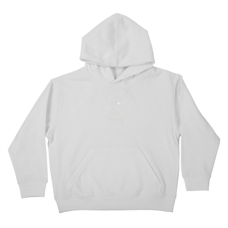 Wanted, Dead or Alive Kids Pullover Hoody by Dustin Klein's Artist Shop