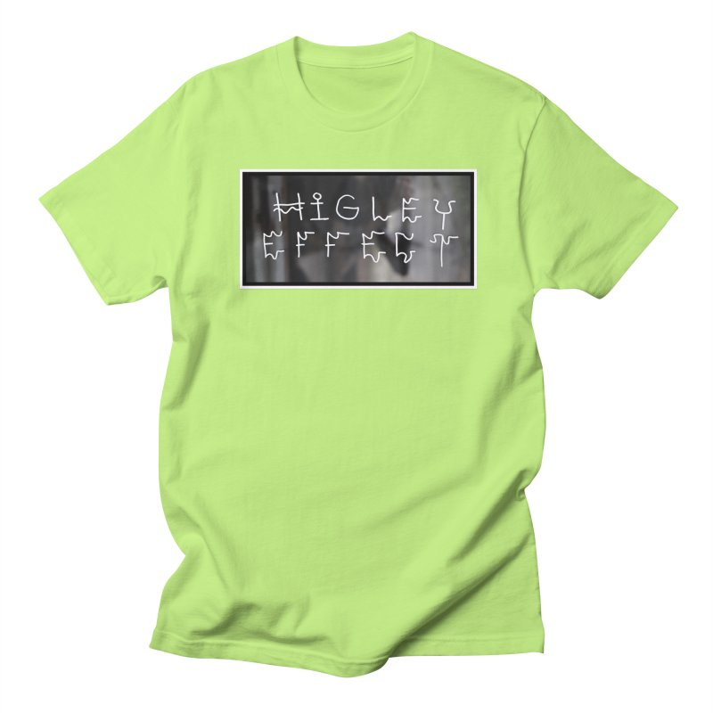 Higley Effect Men's Regular T-Shirt by Dustin Klein's Artist Shop