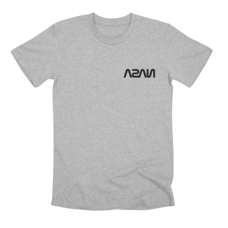 ASAN in Men's Premium T-Shirt Heather Grey by Dustin Klein's Artist Shop