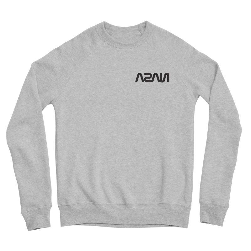 ASAN Men's Sponge Fleece Sweatshirt by Dustin Klein's Artist Shop