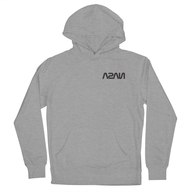 ASAN Women's French Terry Pullover Hoody by Dustin Klein's Artist Shop