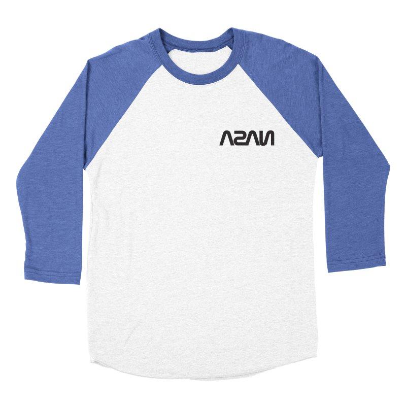 ASAN Men's Baseball Triblend Longsleeve T-Shirt by Dustin Klein's Artist Shop