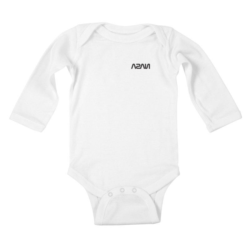 ASAN Kids Baby Longsleeve Bodysuit by Dustin Klein's Artist Shop