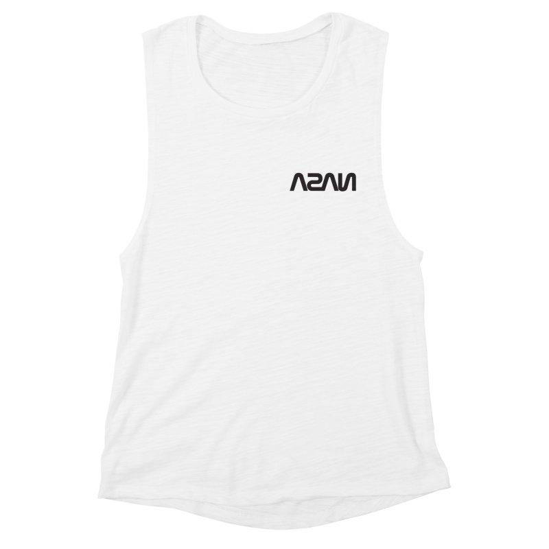 ASAN Women's Muscle Tank by Dustin Klein's Artist Shop