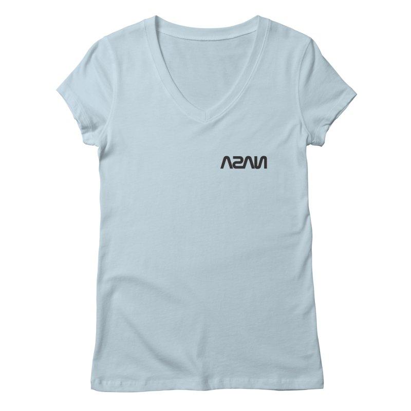 ASAN Women's Regular V-Neck by Dustin Klein's Artist Shop
