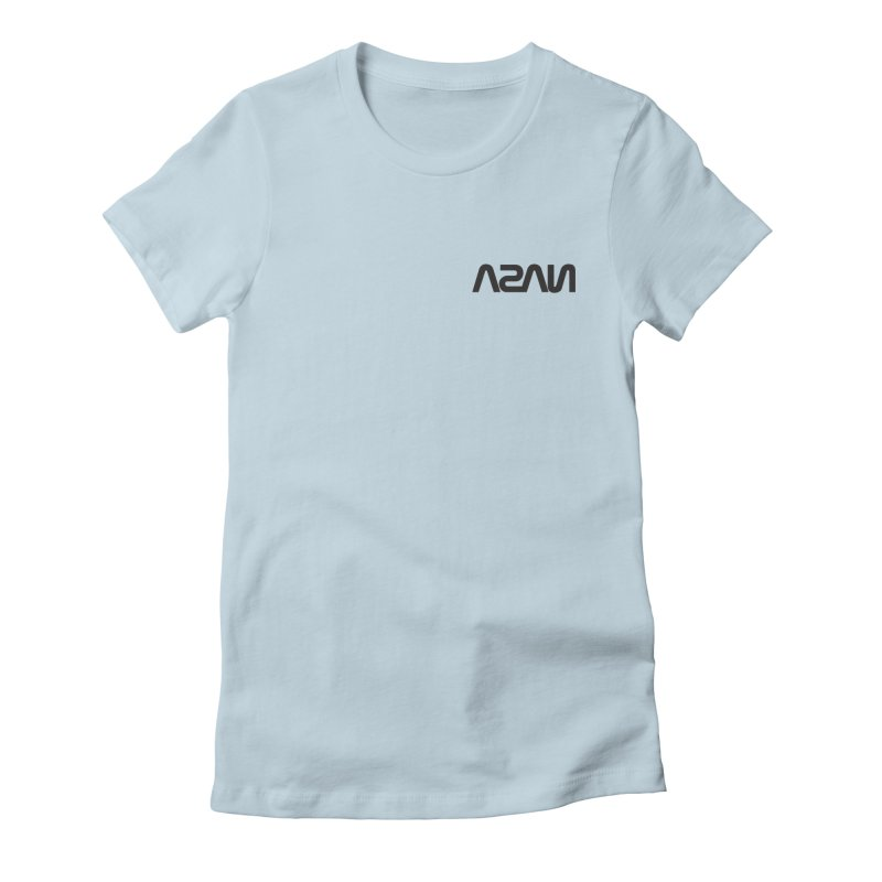 ASAN Women's Fitted T-Shirt by Dustin Klein's Artist Shop