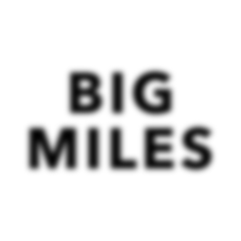 Big Miles blk Men's T-Shirt by Dustin Klein's Artist Shop
