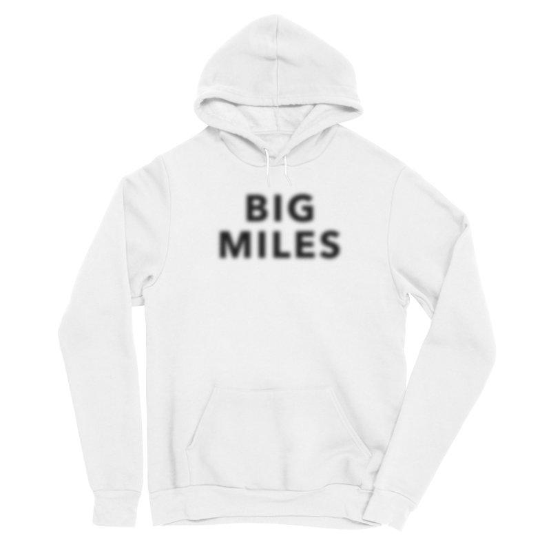 Big Miles blk Men's Pullover Hoody by Dustin Klein's Artist Shop