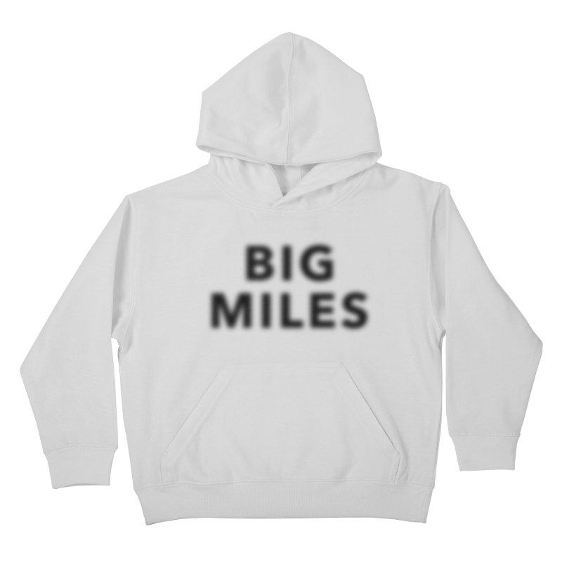 Big Miles blk Kids Pullover Hoody by Dustin Klein's Artist Shop