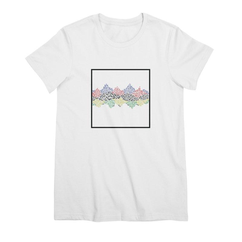 Little 500 Women's Premium T-Shirt by Dustin Klein's Artist Shop