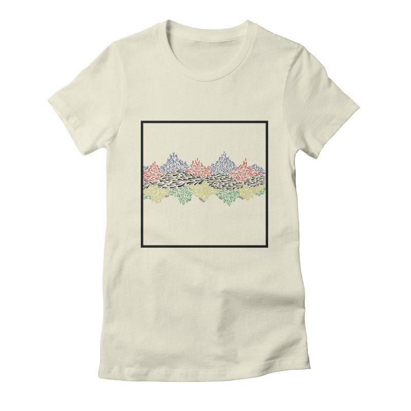 Little 500 Women's Fitted T-Shirt by Dustin Klein's Artist Shop