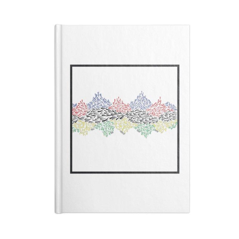 Little 500 Accessories Blank Journal Notebook by Dustin Klein's Artist Shop