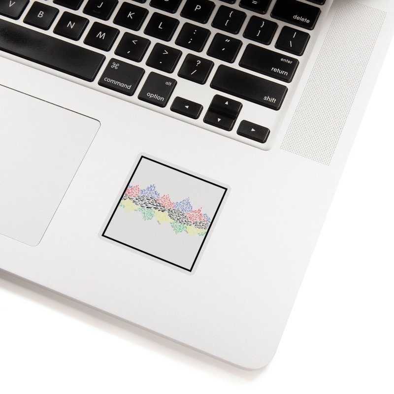 Little 500 Accessories Sticker by Dustin Klein's Artist Shop