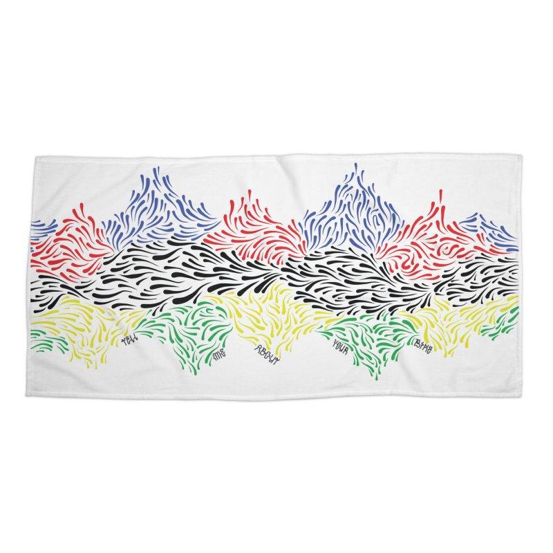 Littler 500 Accessories Beach Towel by Dustin Klein's Artist Shop