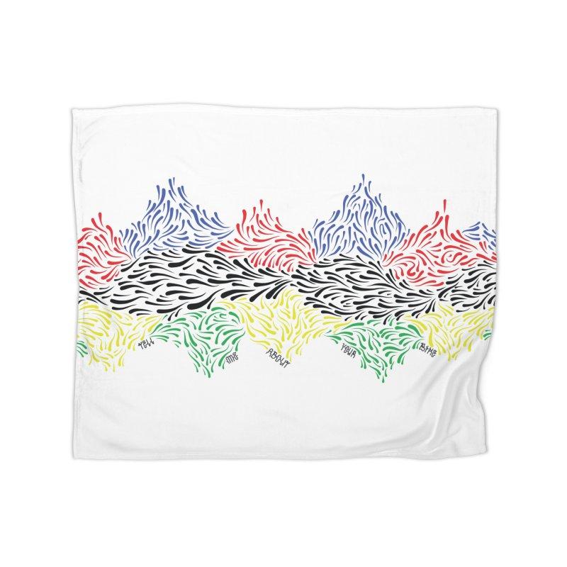 Littler 500 Home Fleece Blanket Blanket by Dustin Klein's Artist Shop