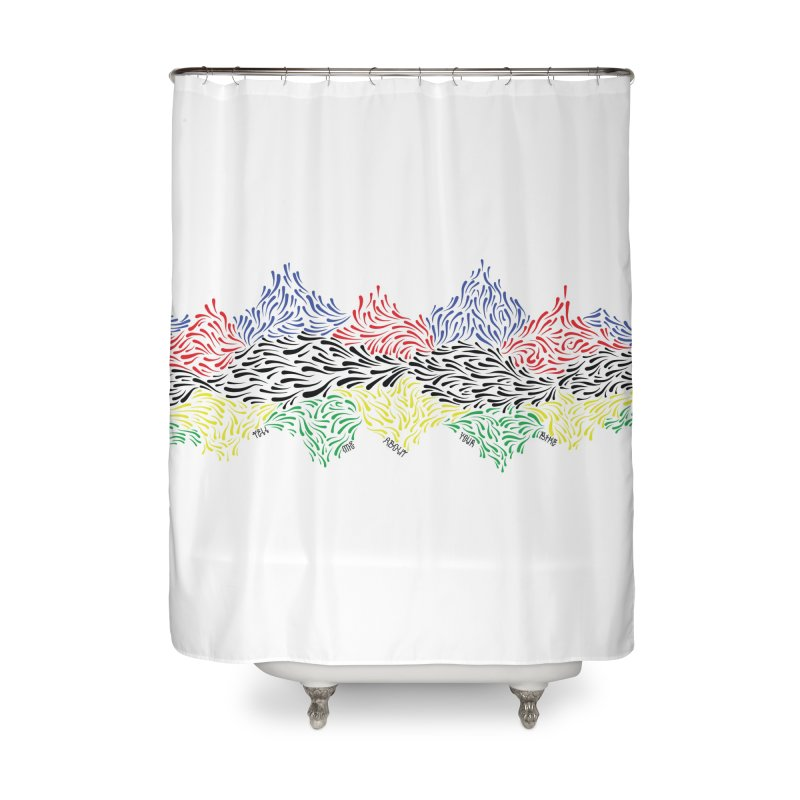 Littler 500 Home Shower Curtain by Dustin Klein's Artist Shop