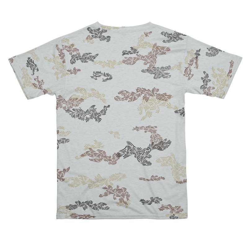 DCO Tundra All Over Print T Men's Cut & Sew by Dustin Klein's Artist Shop