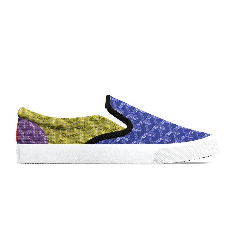 Brusher Multi Color Shoes Men's Shoes by Dustin Klein's Artist Shop